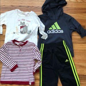 Boys clothes lot size 2/3